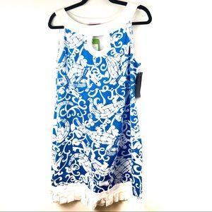 Lilly Pulitzer Jacqueline Shift Dress Coastal Blue